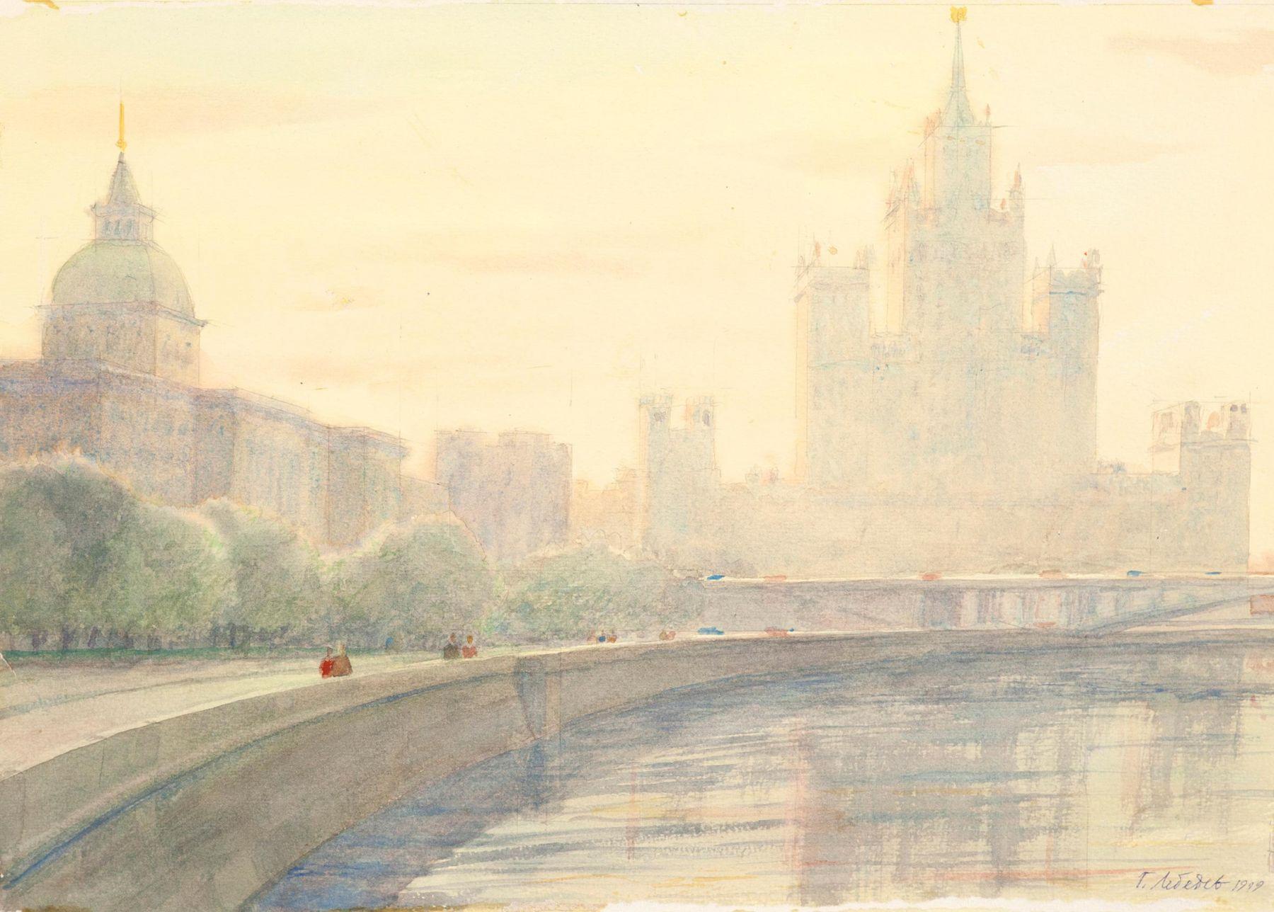 Москва. Котельническая Набережная.