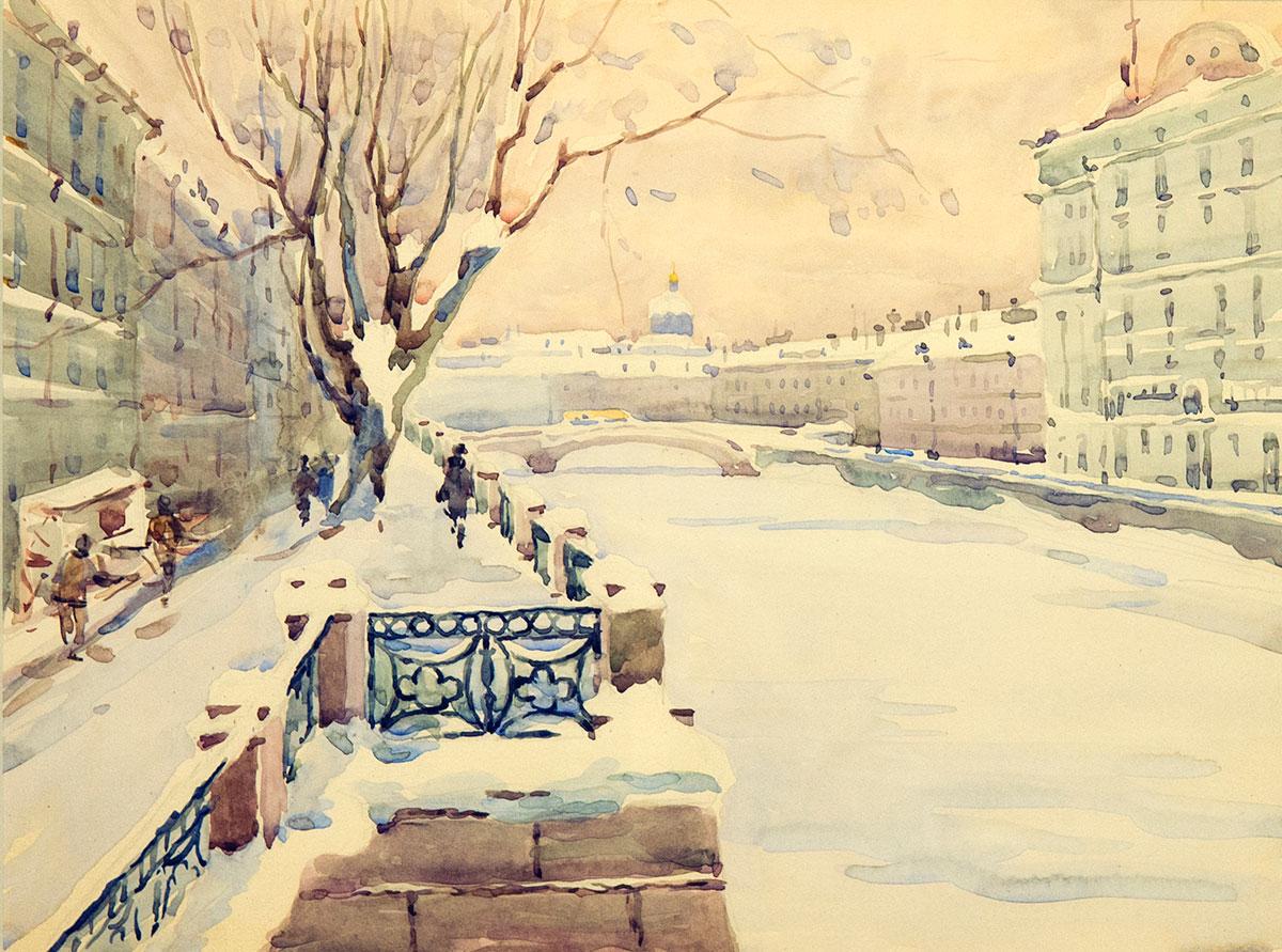 Ленинград. Зима.