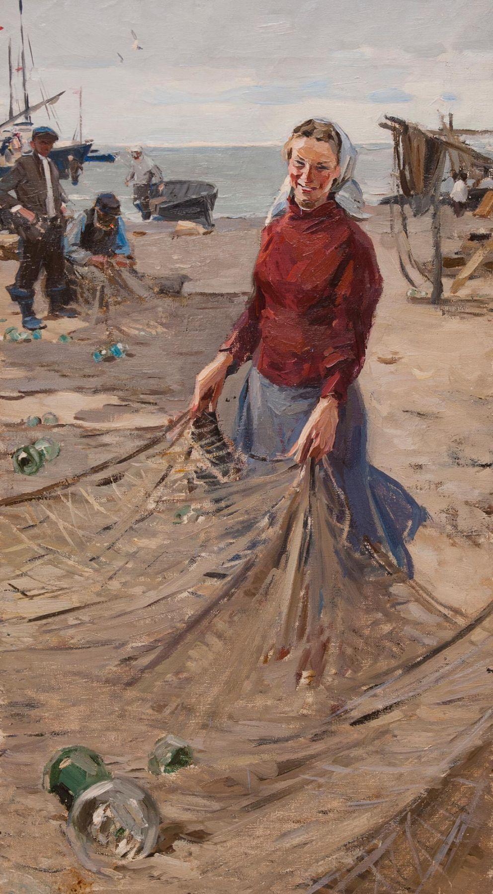 Fisherwoman.