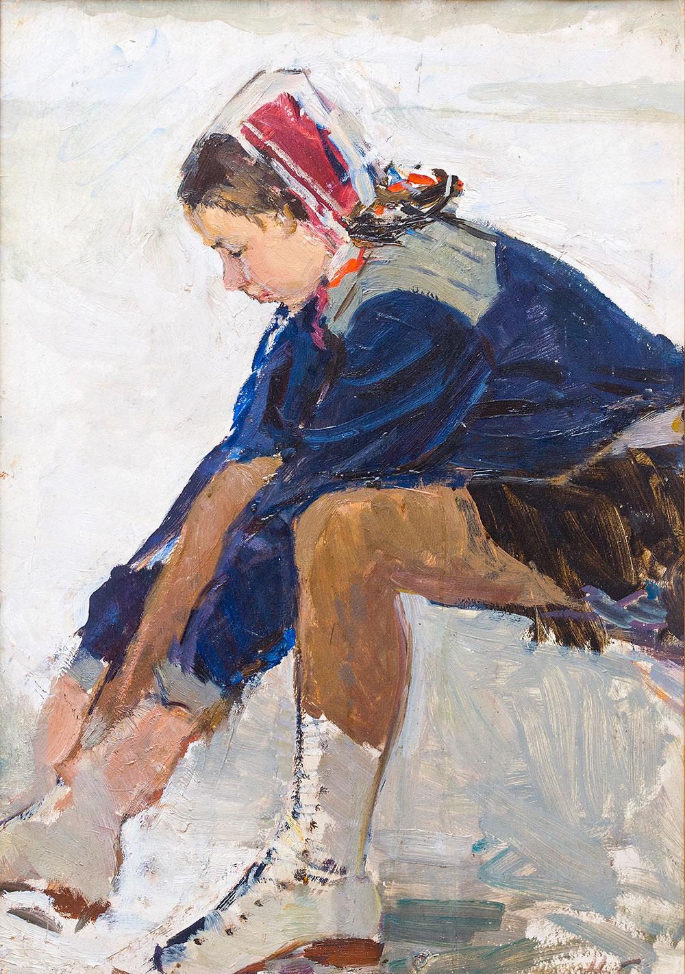 Марина Гранаткина - чемпионка СССР по парному фигурного катанию.