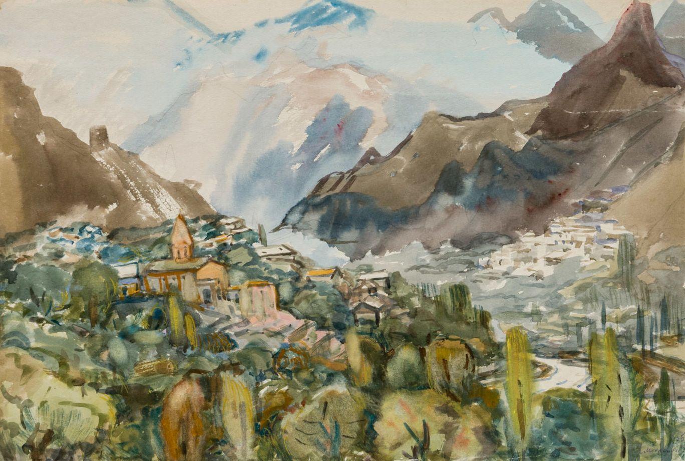 Горы. Армения.