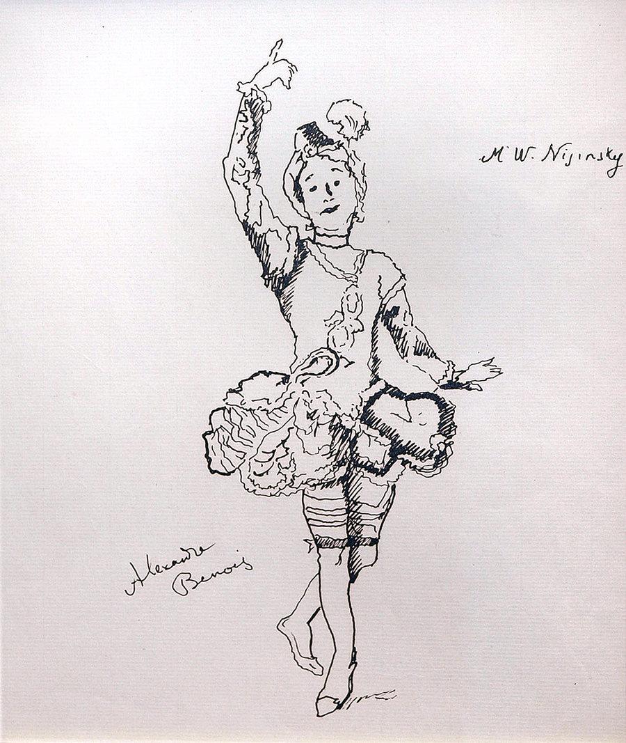 Нижинский В.Ф. Эскиз к балету