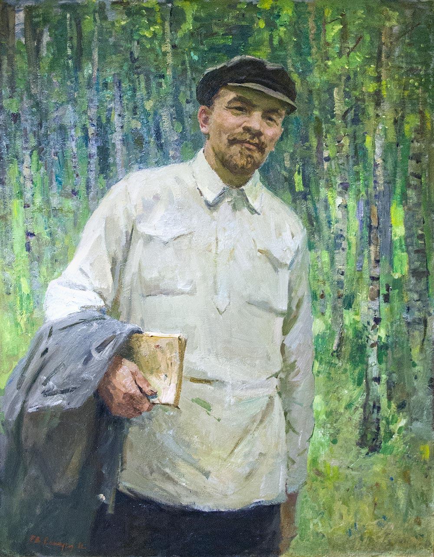 В.И. Ленин на отдыхе.
