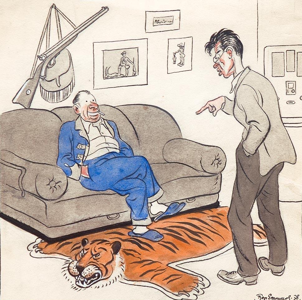 Подумаешь, тигра на охоте встретил!