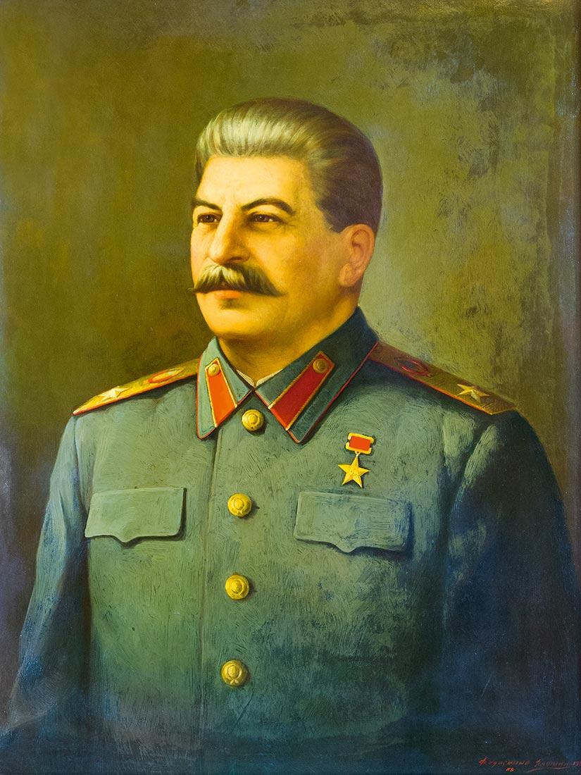 I.V. Stalin.