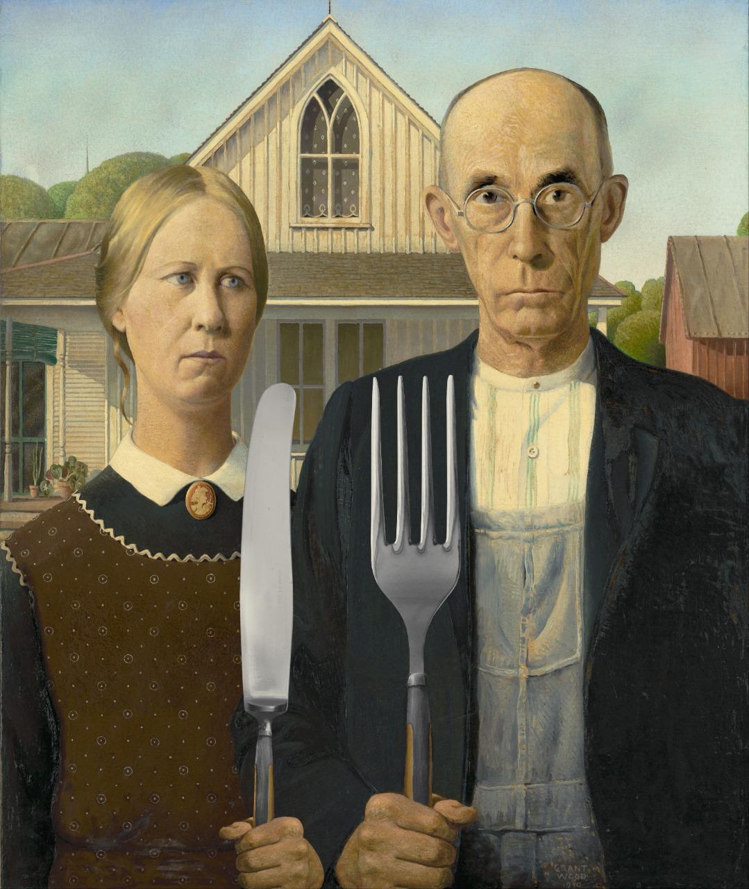 Американская готика.