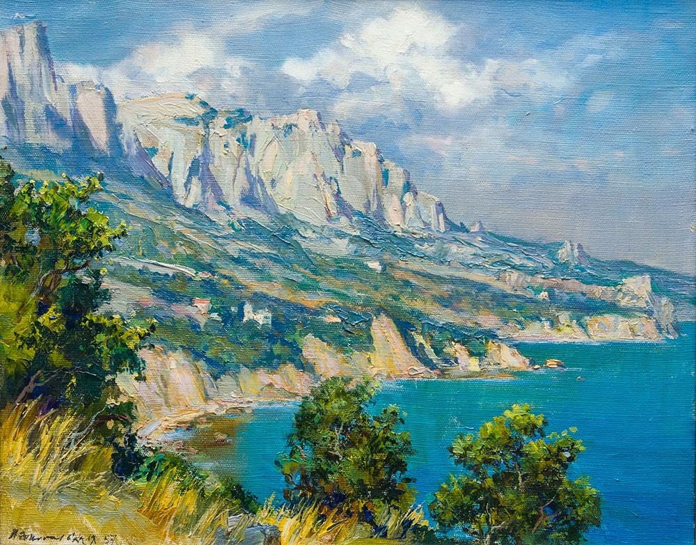 The Crimean shore.