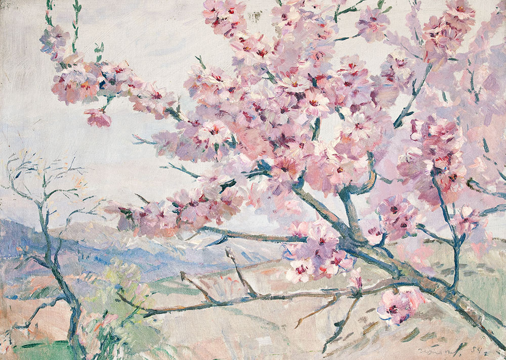 Flowering almond.