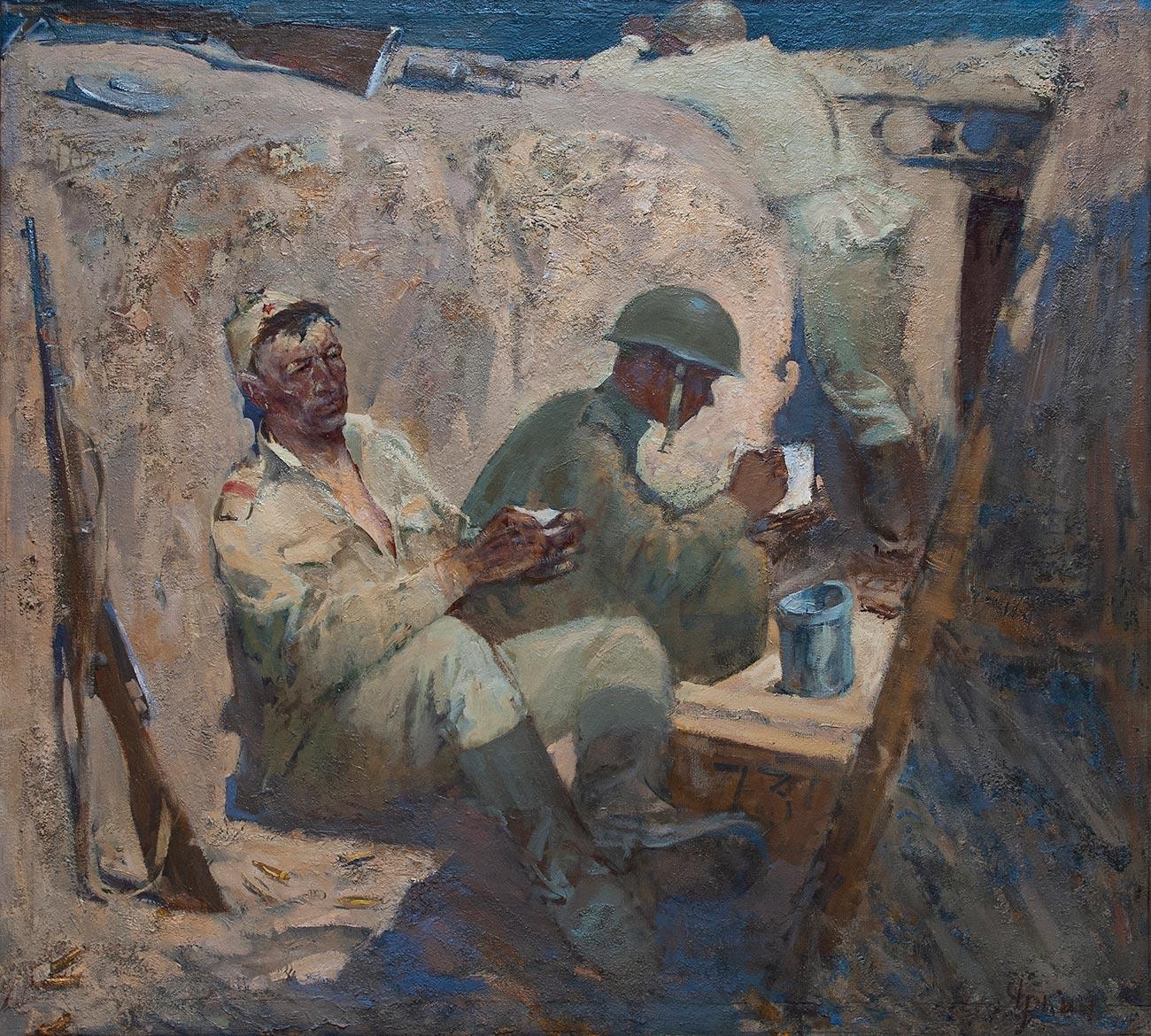 Солдаты.