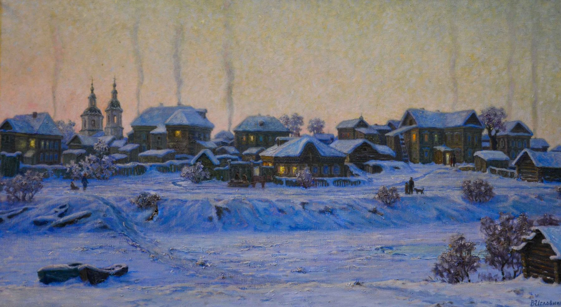 Вечерний Тобольск.