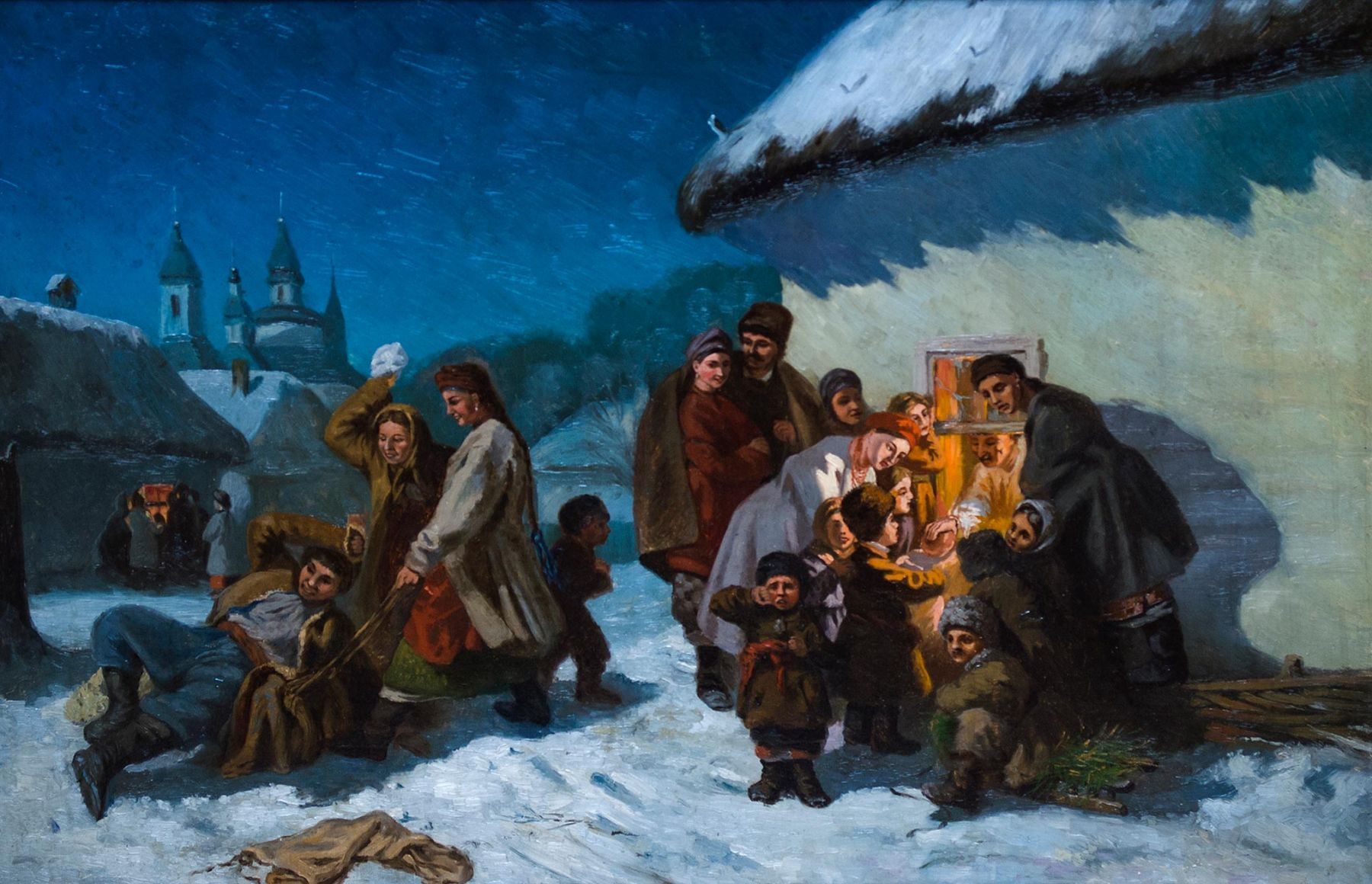 Carols in little Russia.