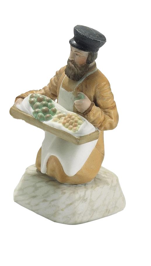 Продавец фруктов.