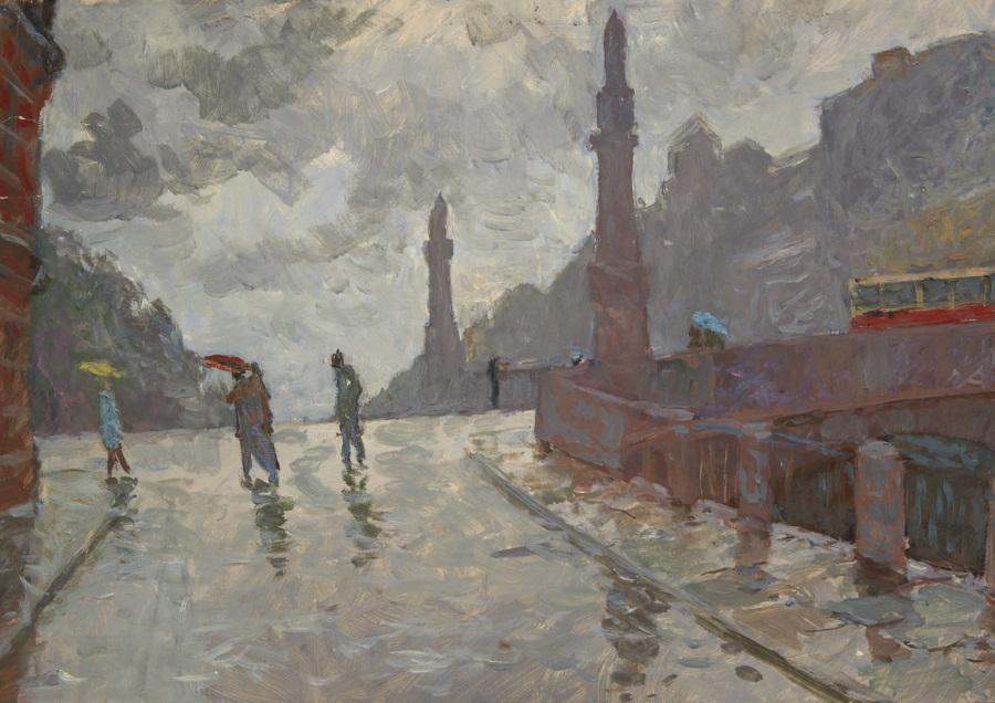 Ленинград. Дождь.