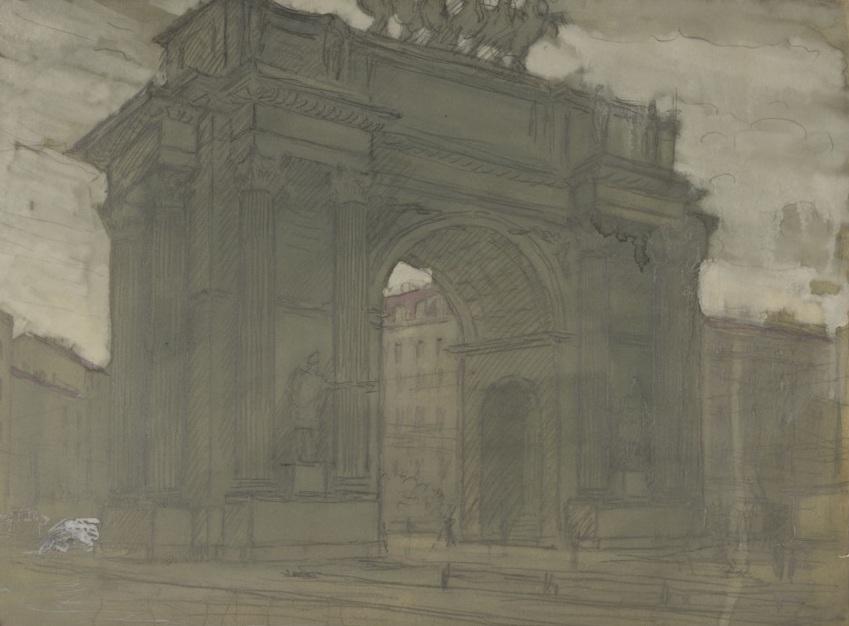 Нарвские ворота.