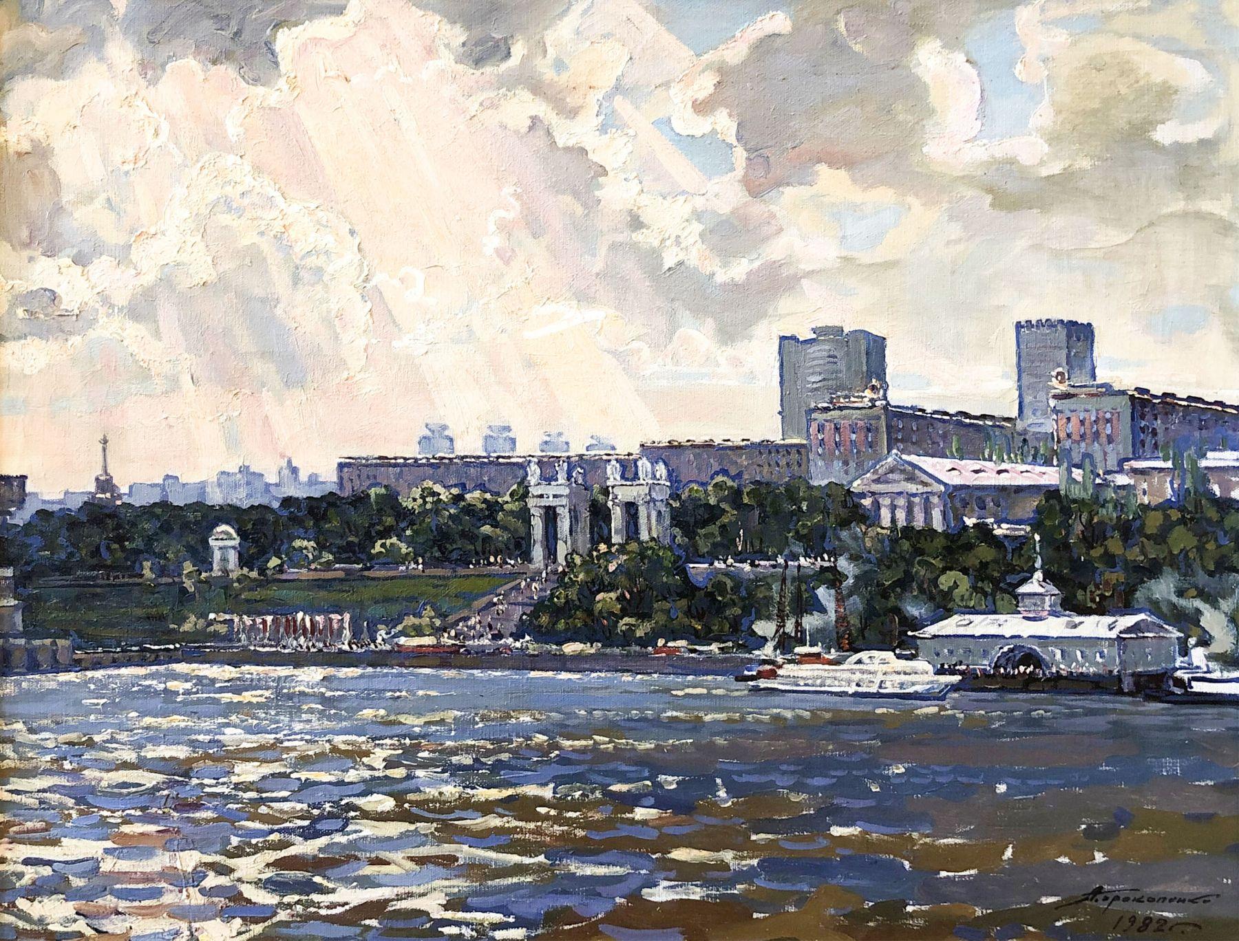 Волга. Парк Победы.