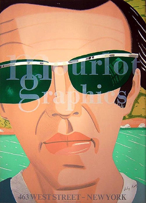 Автопортрет в солнечных очках.