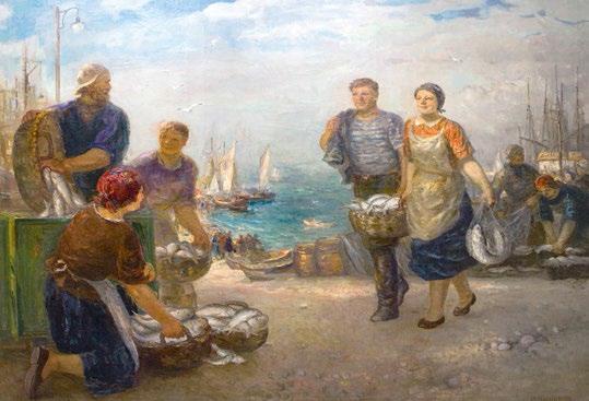 Керченские рыбаки.