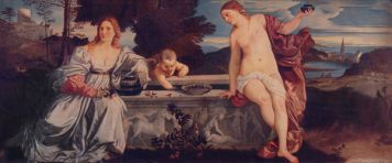 Copy of a painting by Titian.