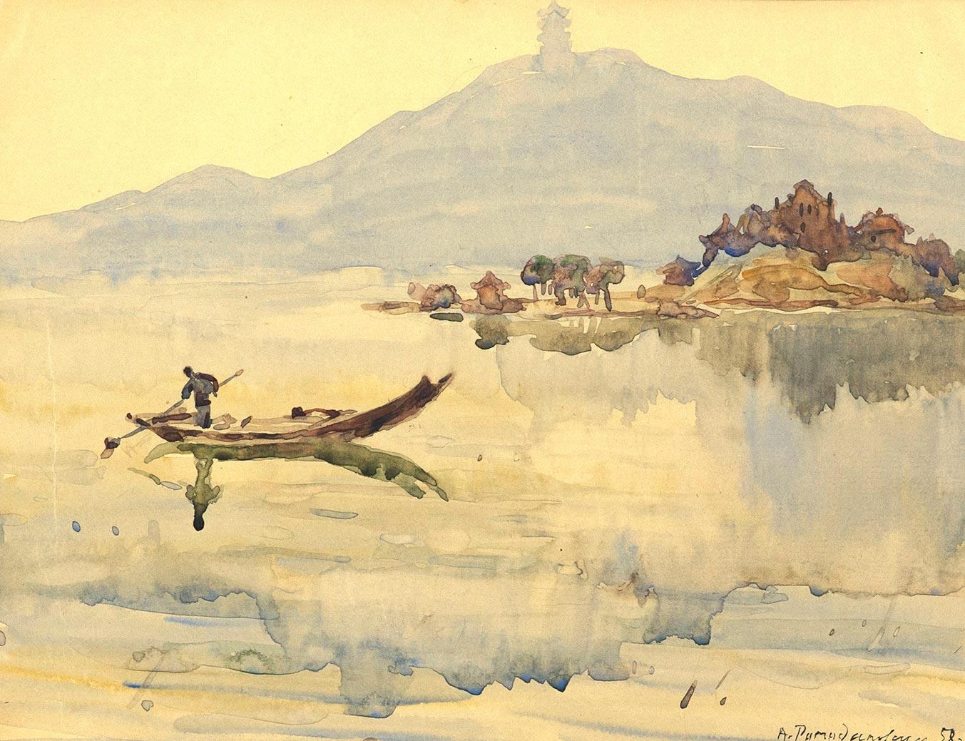 Ухань. Озеро Дун-Ху.