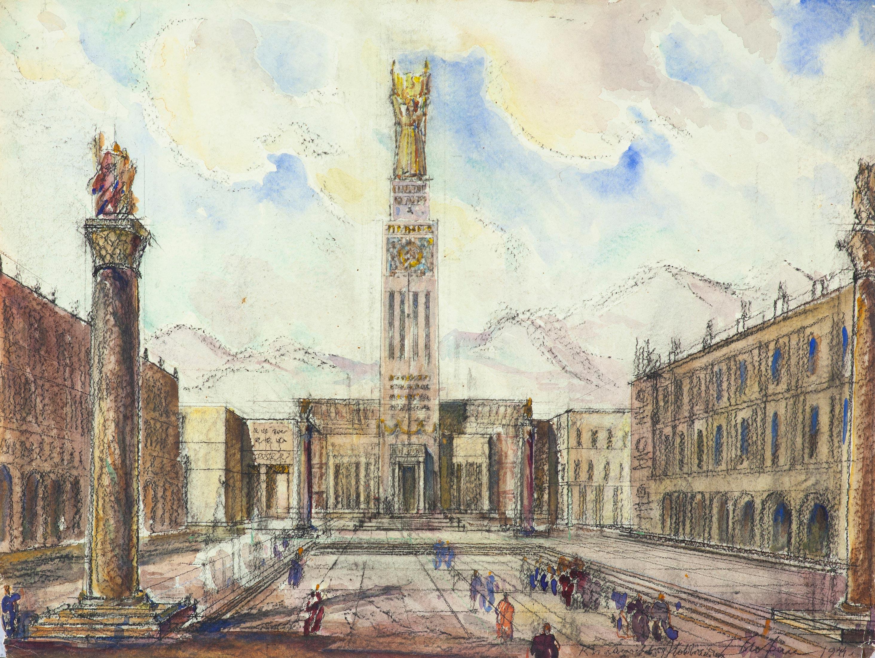Проект Центральной площади  г.Новороссийска.