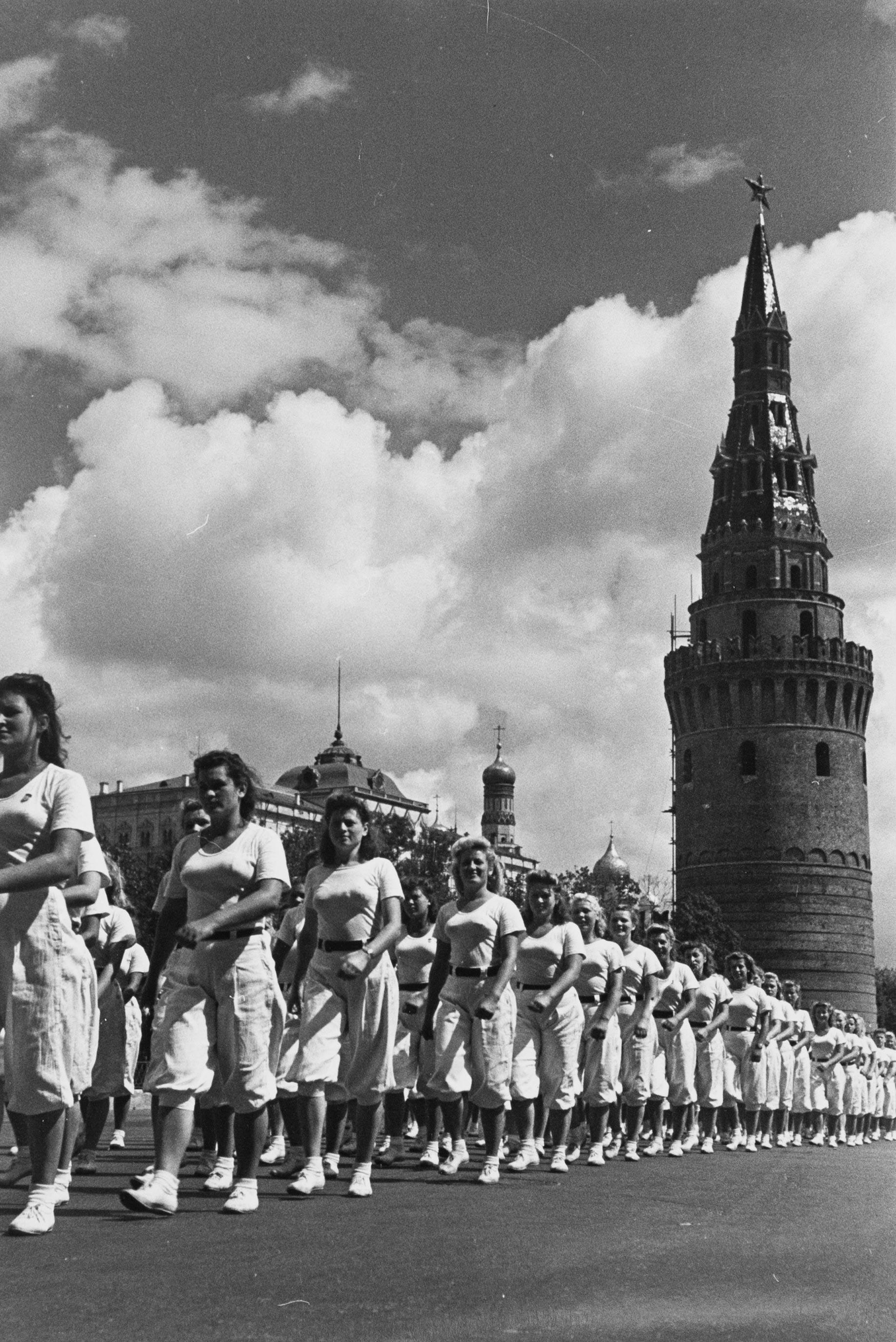 Спортивный праздник. 1947 г.