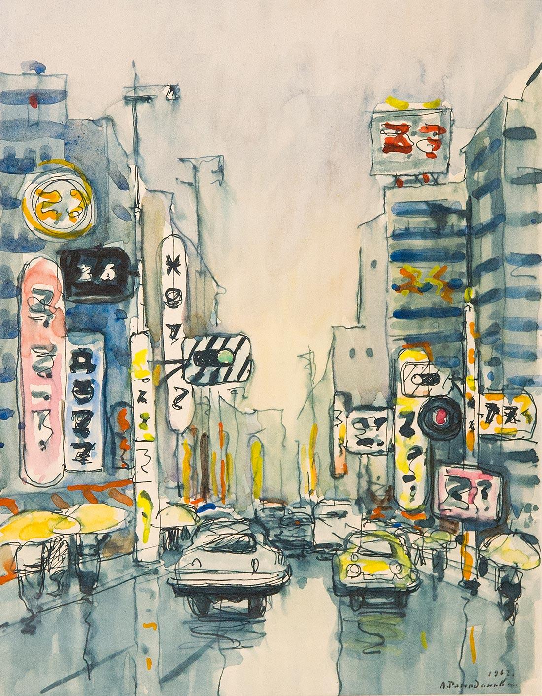 После дождя. Япония.