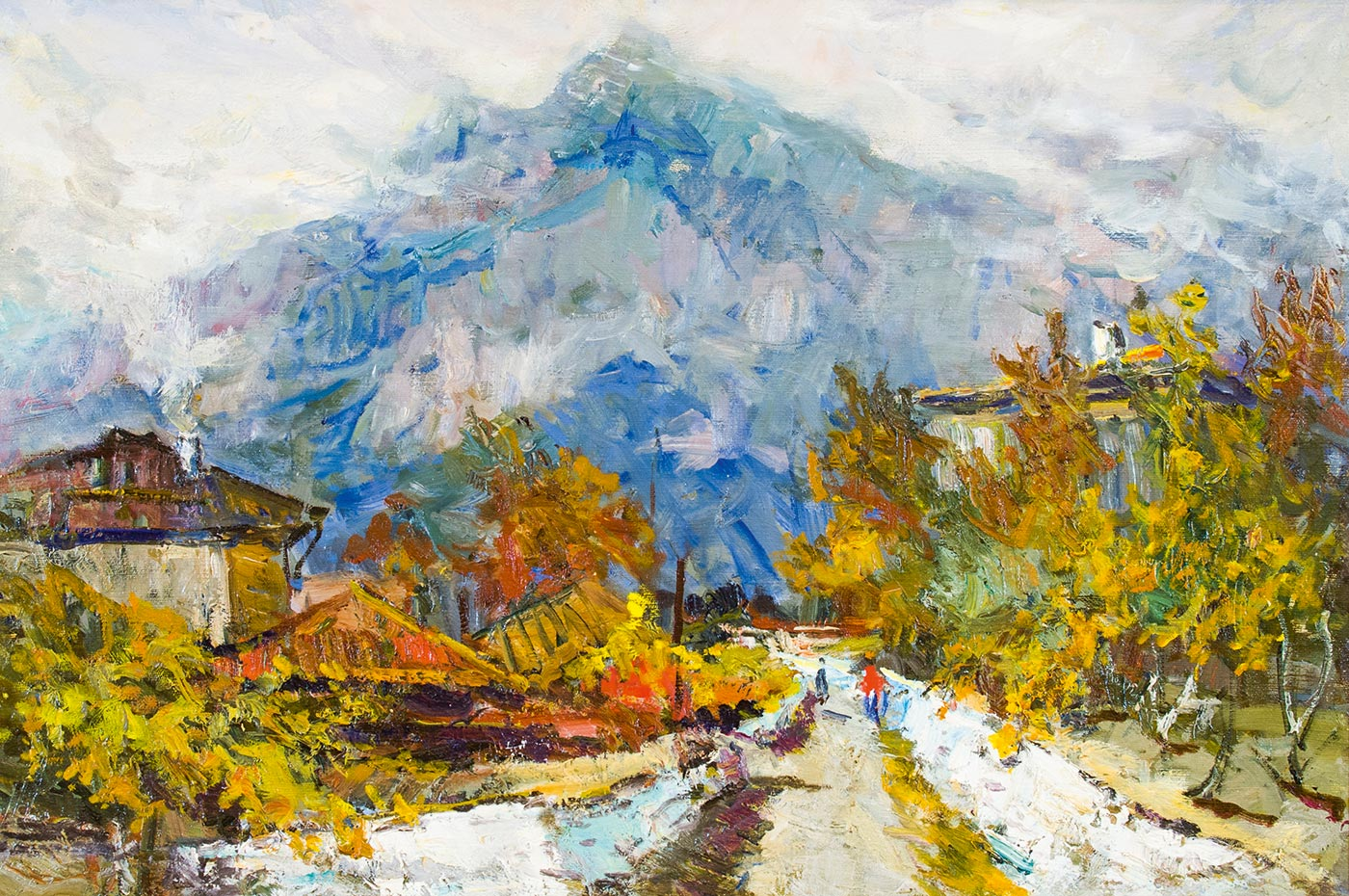 Осень в Крыму.