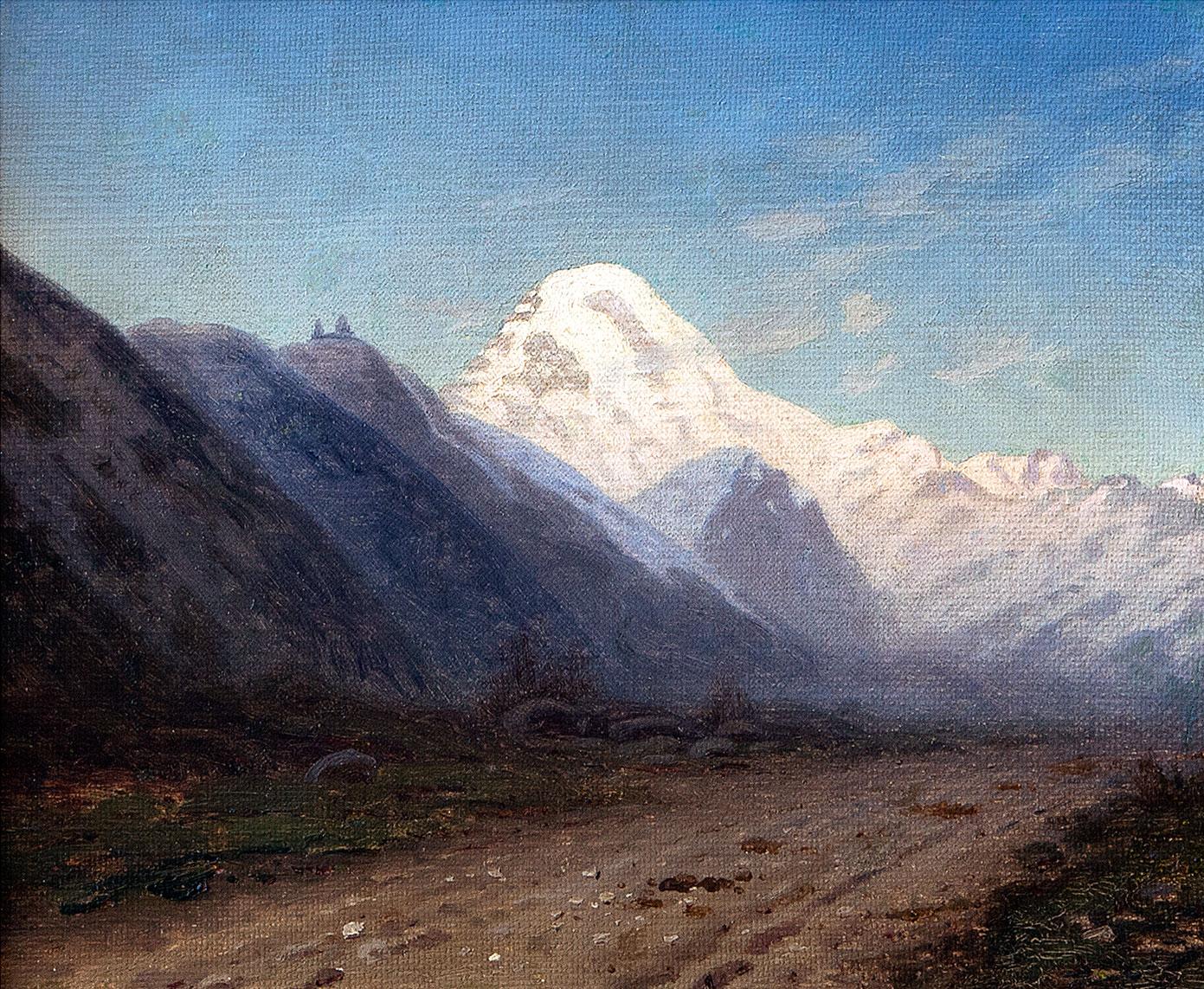 Гора Казбек.