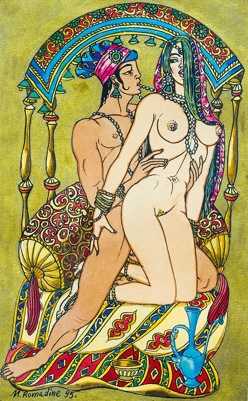 Иллюстрация к поэме Ф.Гургани