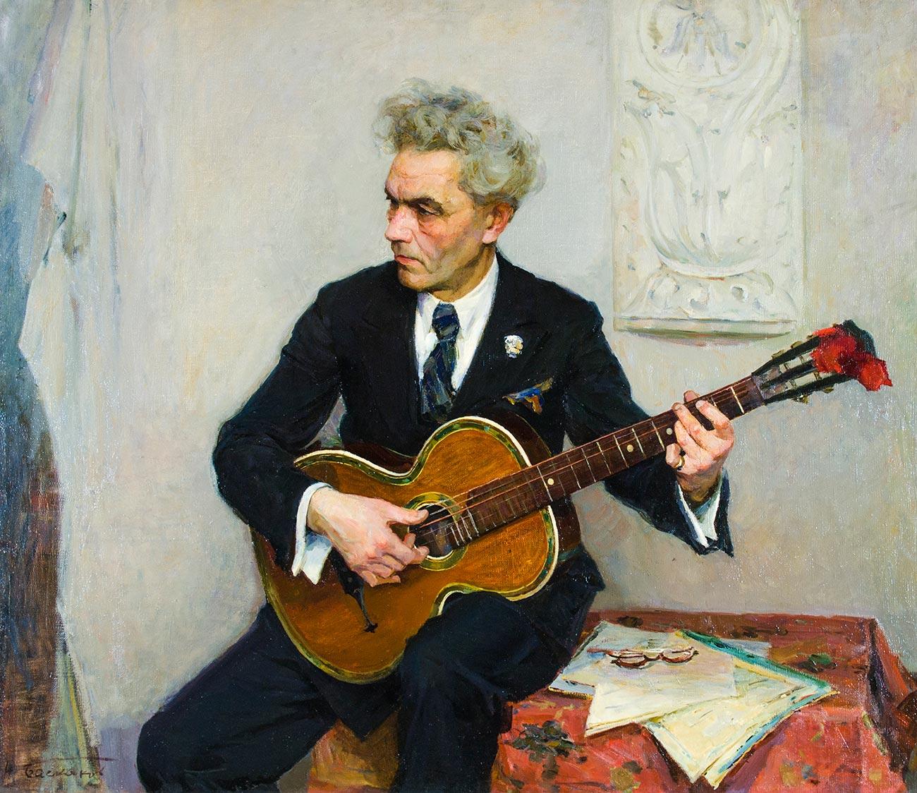 Гитарист.