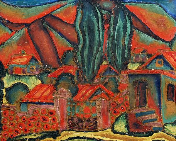 1)Крым. 2)Красные крыши.