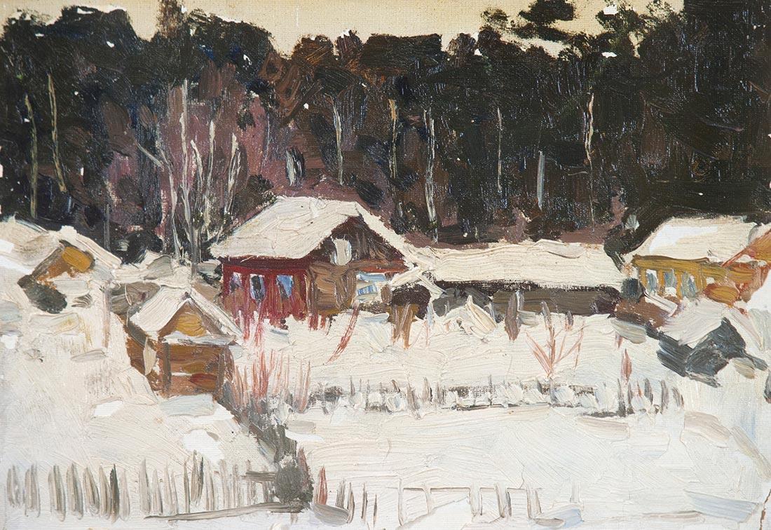 Зимой в  Васильево.