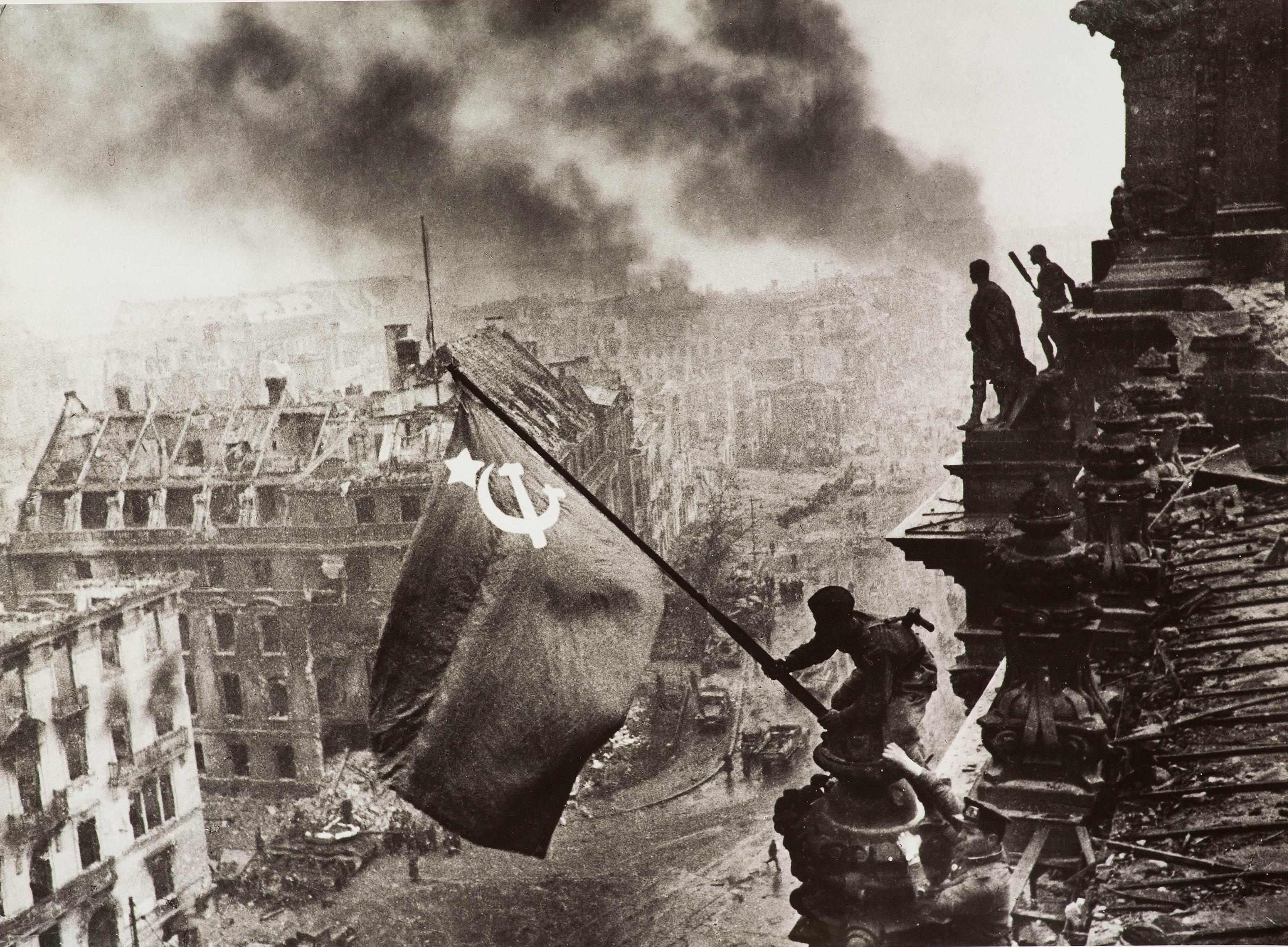 Знамя Победы! Авторский отпечаток.