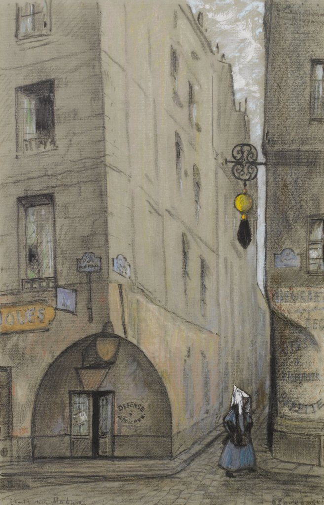 Улица Мадам. Париж.