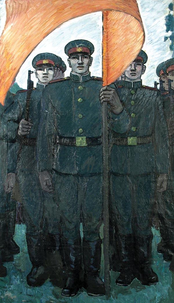 Триптих: Вы служите, мы Вас подождем.