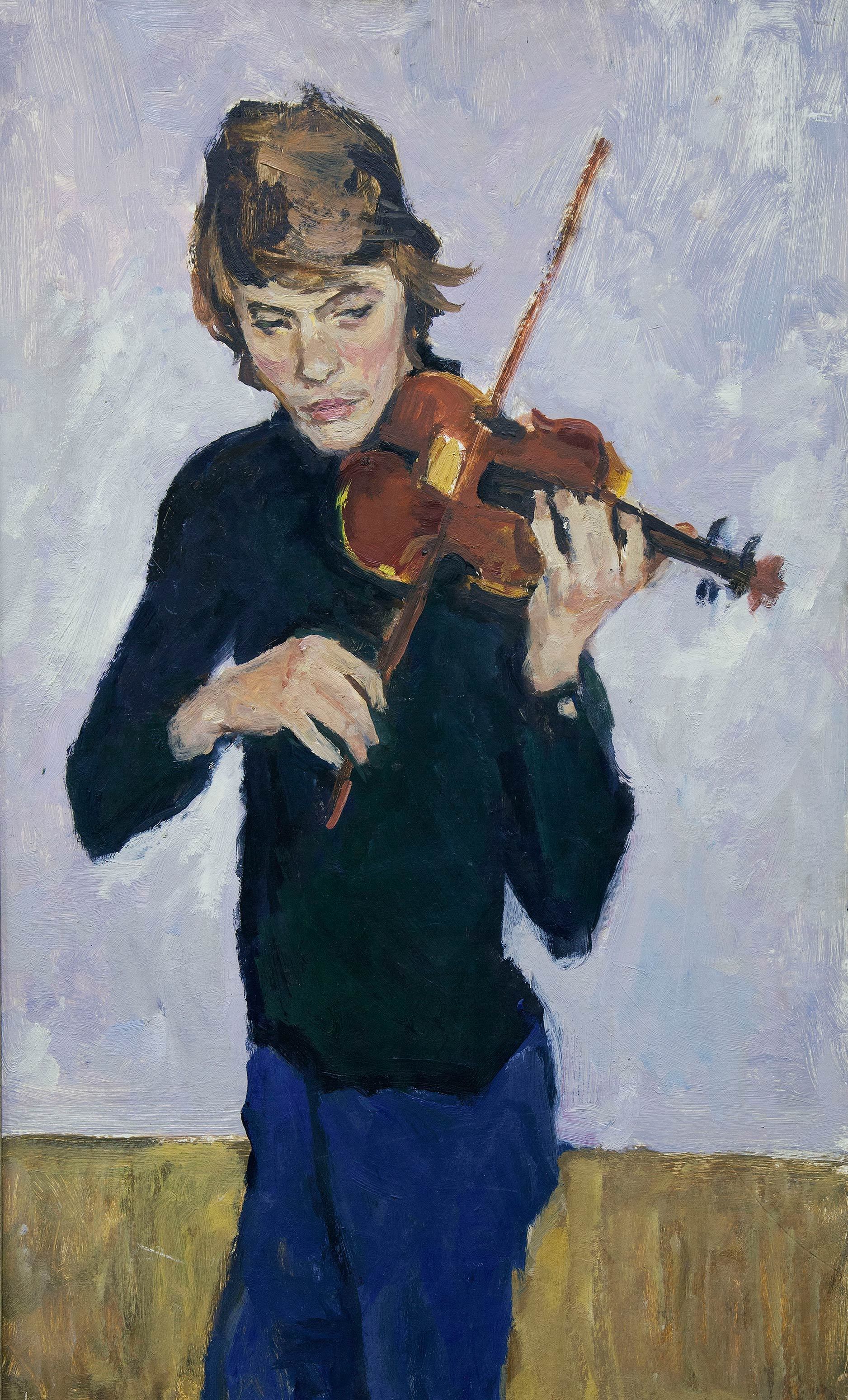 Скрипач.