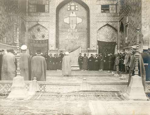 Мечеть в Мешеди.