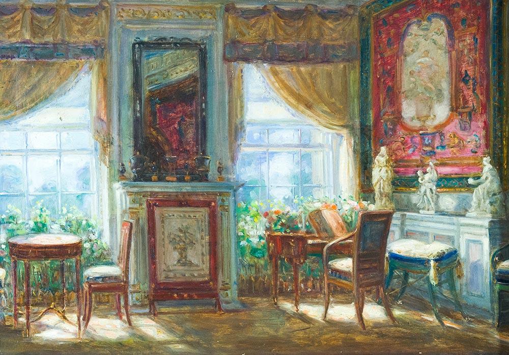 Павловский дворец-музей. Комната Марии Фёдоровны.