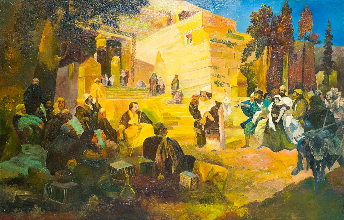 Копия с работы В.Д. Поленова