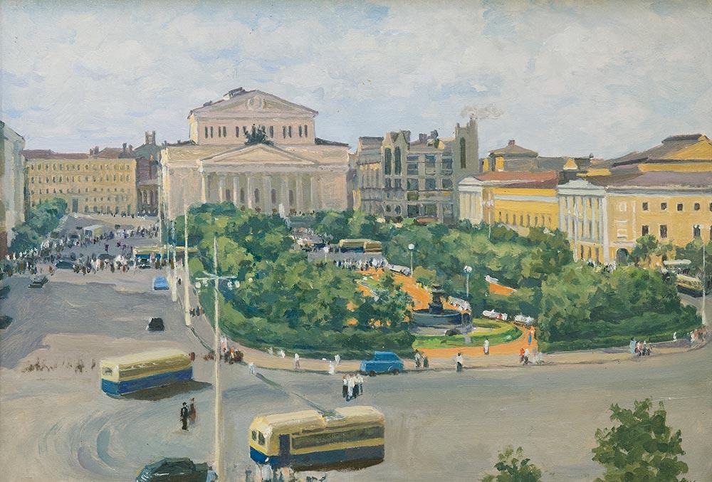 Площадь Свердлова.
