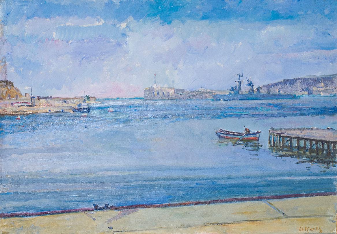 Голубой Севастополь.