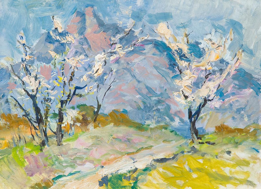 Крым. Весна в горах.