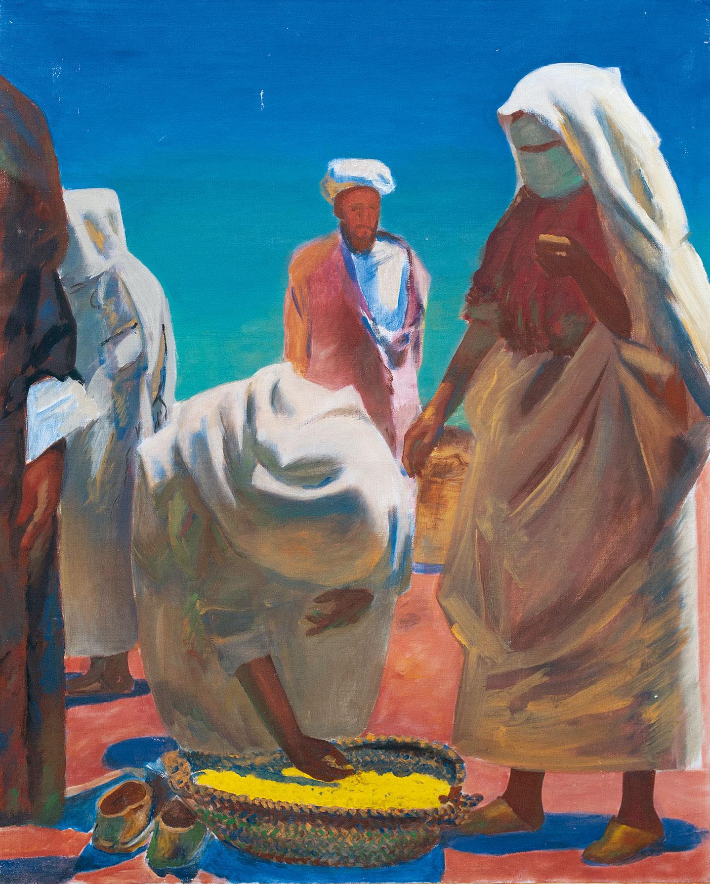 Покупатель пшеницы. Из цикла Марокко.