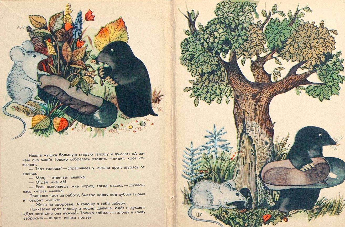 Пляцковский, М.Галоша. Книга-раскладушка.
