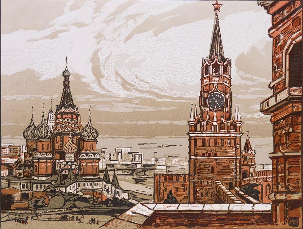 Москва-Кремль.