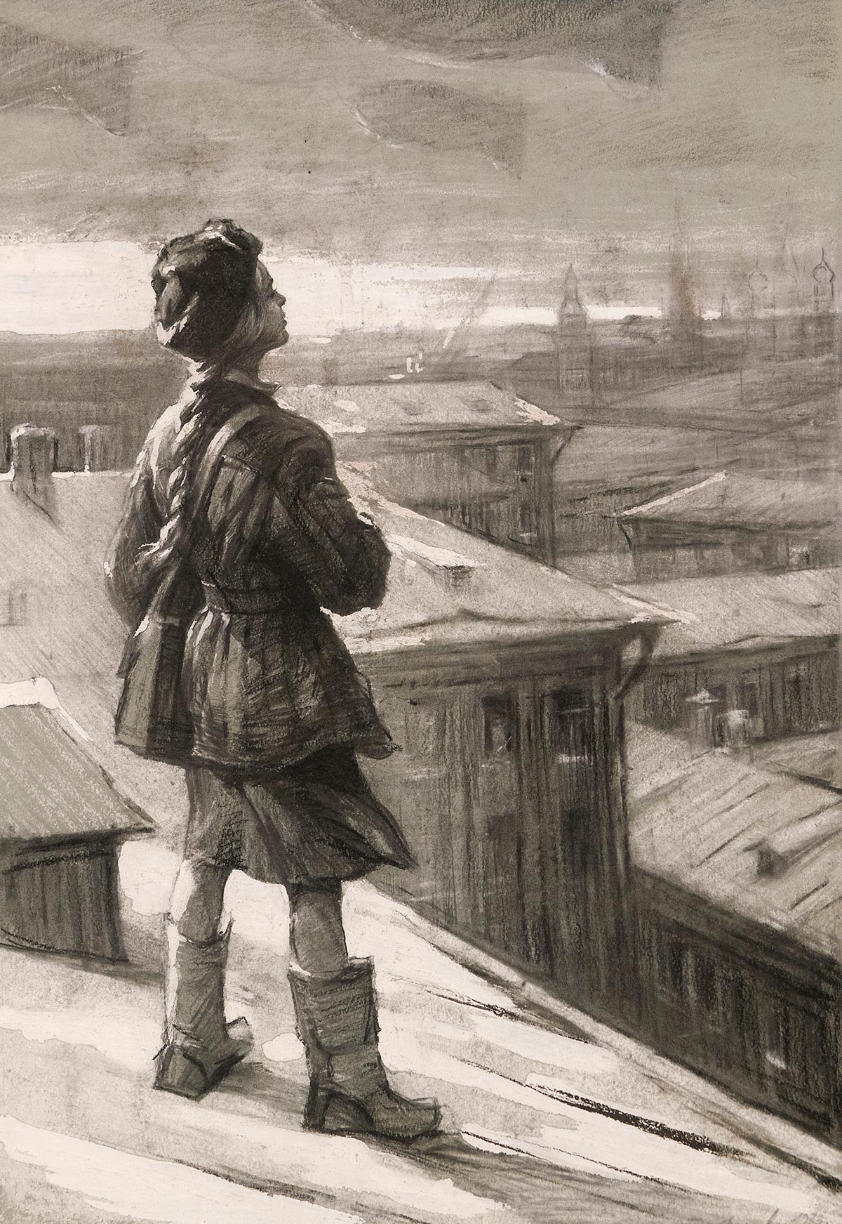 Небо Москвы. Серия