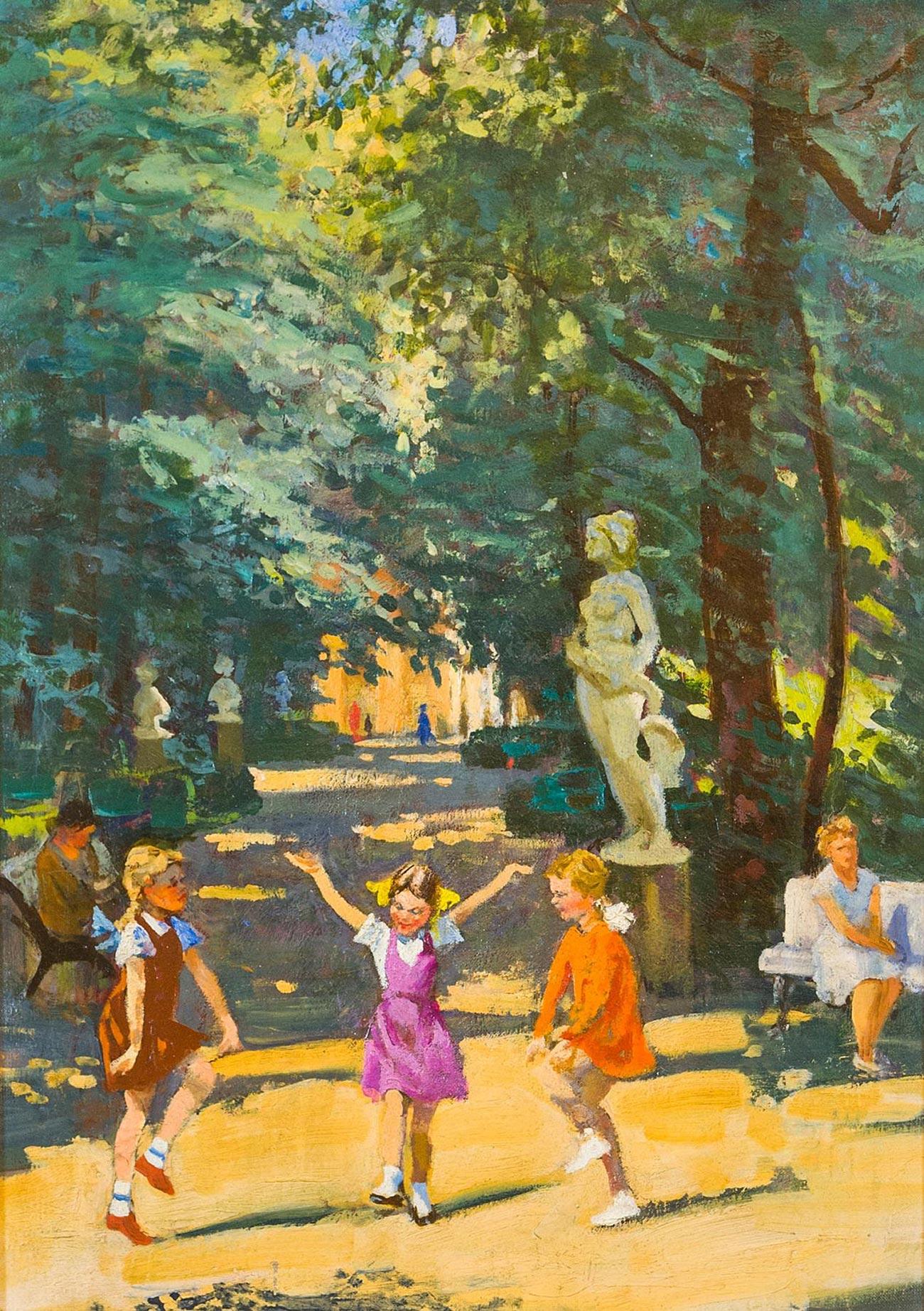 Летний сад.Ленинград.