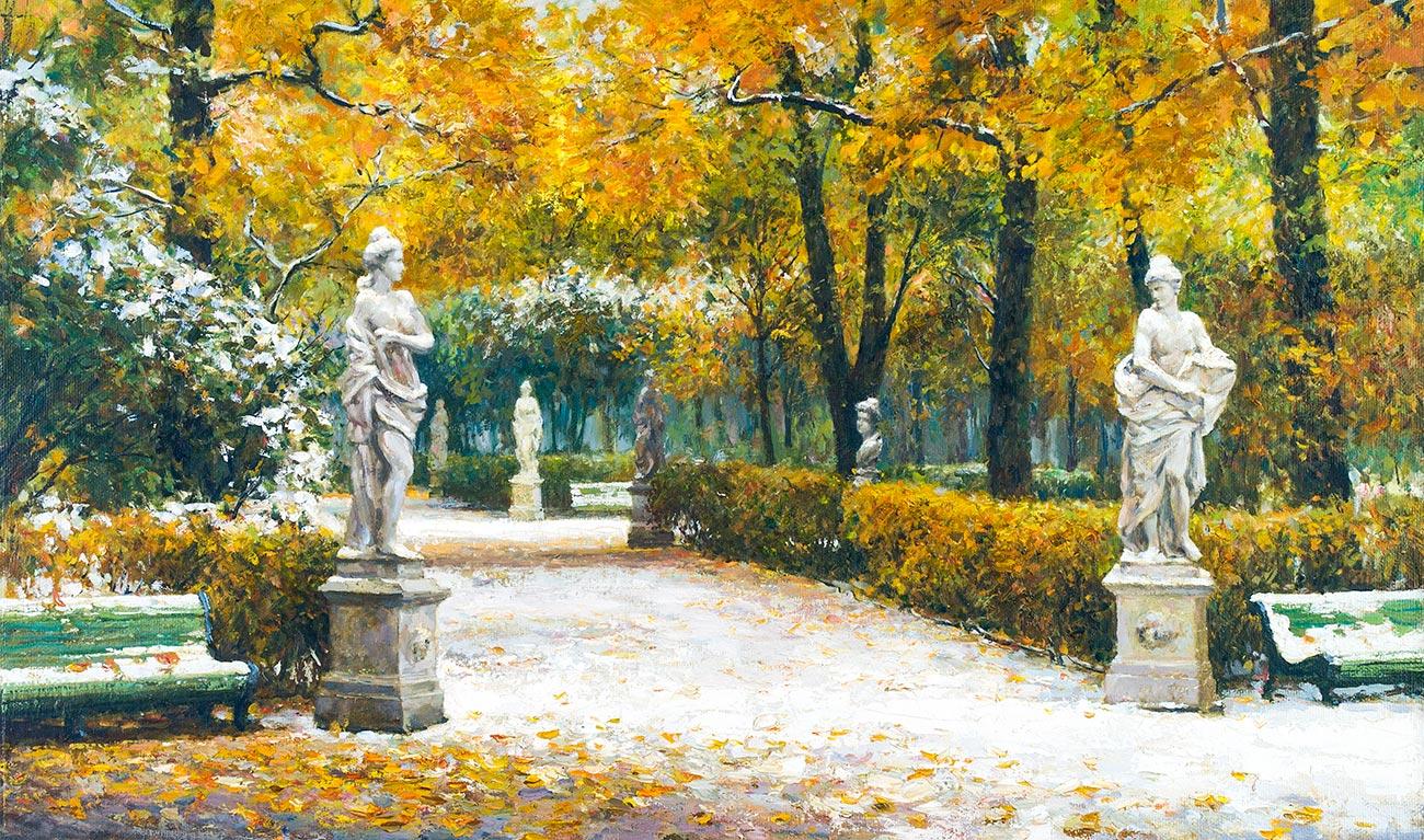 Осень в Летнем саду.