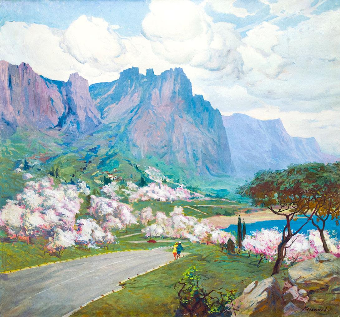 Весна. Крым.
