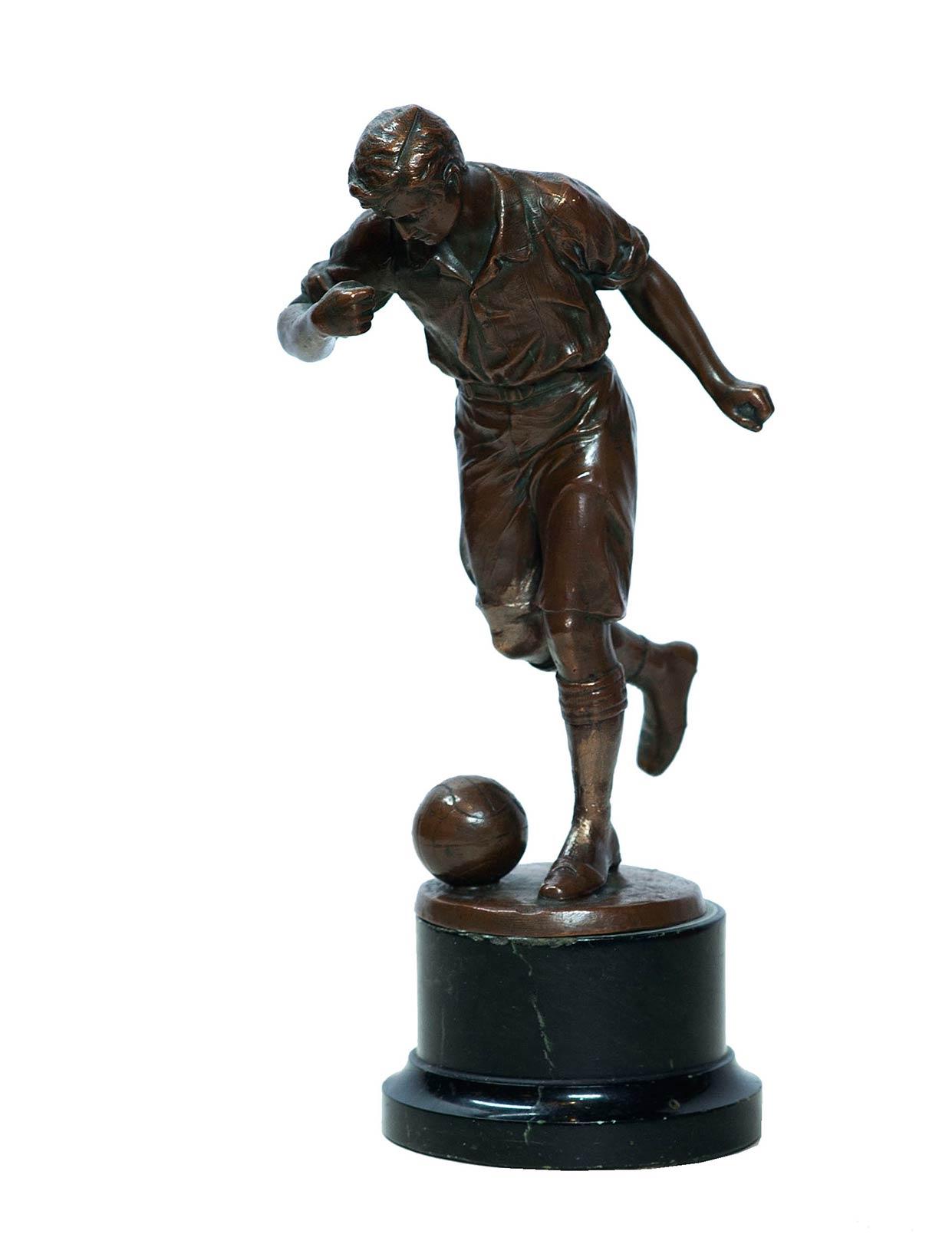 Футболист.